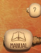the Manual and Help buttons