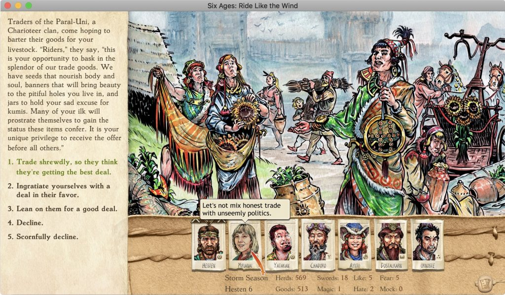 Six Ages Development Blog – Making a storytelling game as
