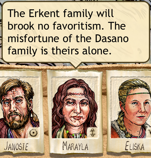 Erkent family has little sympathy for the Dasano family